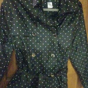 Capelli of New York Jackets & Coats - Polka dotted lightweight jacket